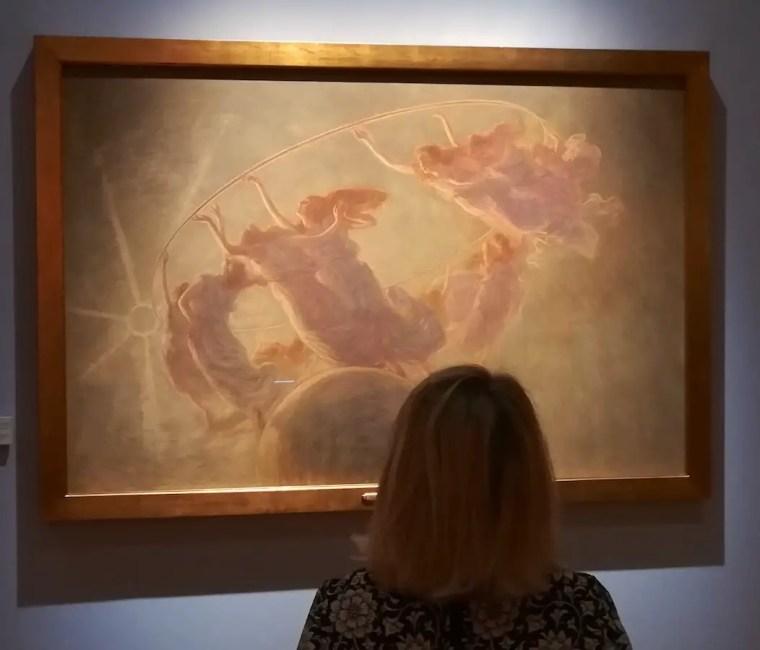 La Danza delle ore di Gaetano Previati in mostra a Padova