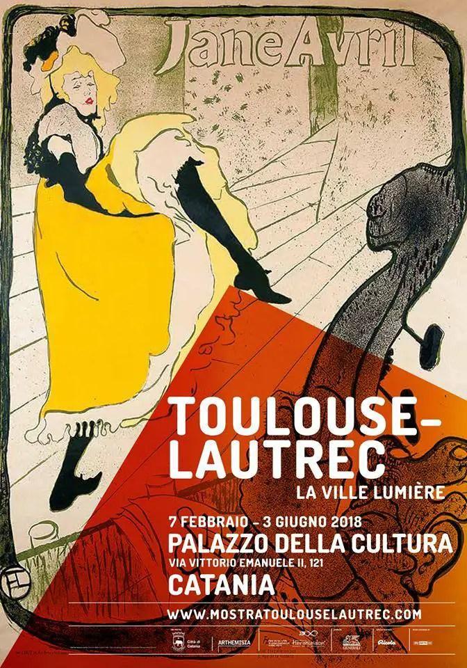 Mostra Toulouse-Lautrec, Catania