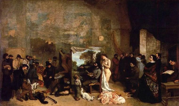 Gustave_Courbet_atelier_artista_vita_opere_riassunto_Due-Minuti-Arte
