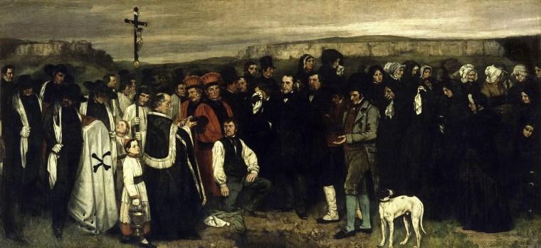 Gustave_Courbet_funerale_ornans_vita_opere_riassunto_Due-Minuti-Arte
