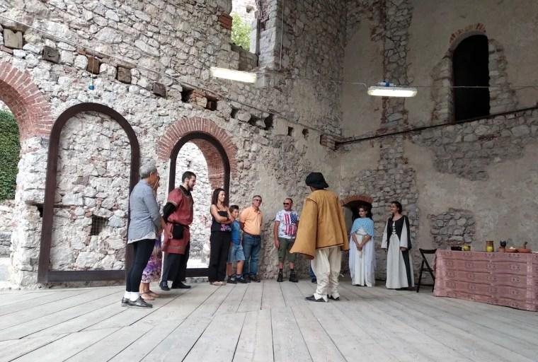 Castello di Avio, le nozze di Tommasina
