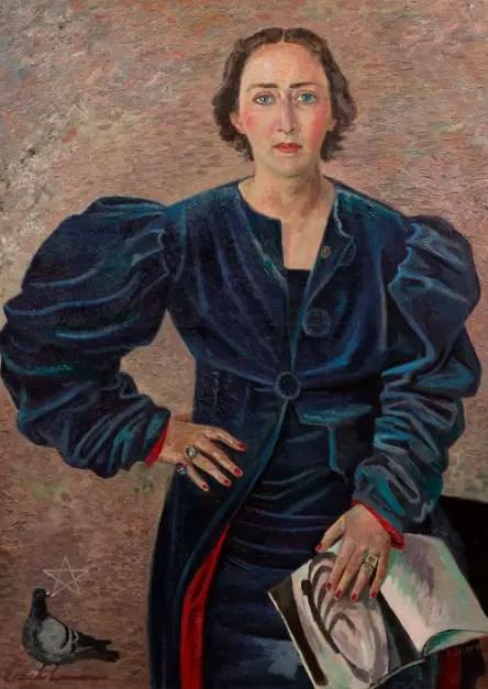 Gino Severini. La Marchesa Maria De Seta, 1937