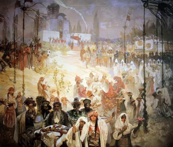 Alfons Mucha, L'epopea slava, 1911-1926