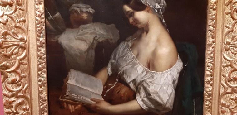 Francois Millet, La lettura di un romanzo