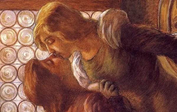 Gaetano Previati, Il bacio