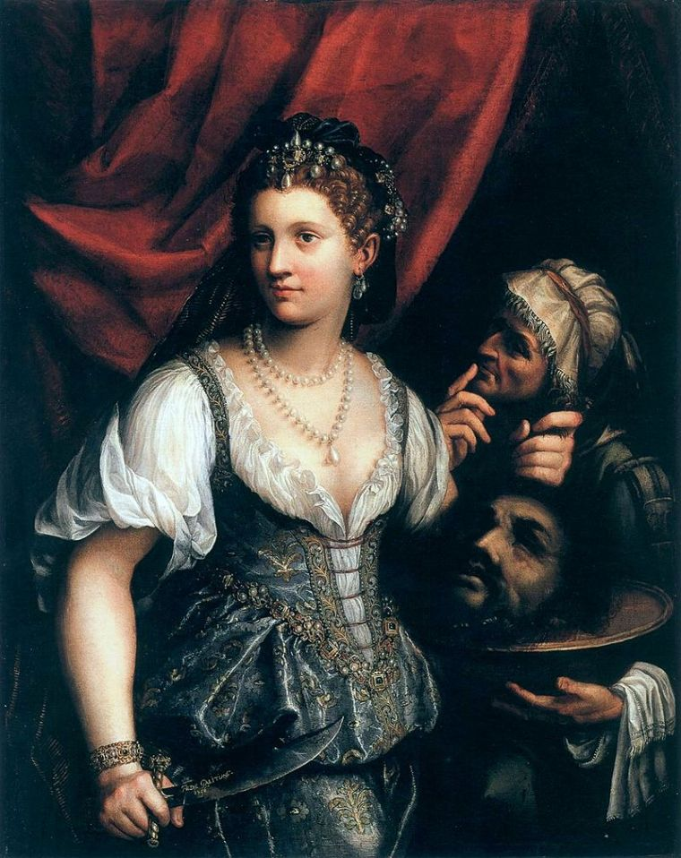 Fede Galizia, Giuditta con la testa di Oloferne, 1596