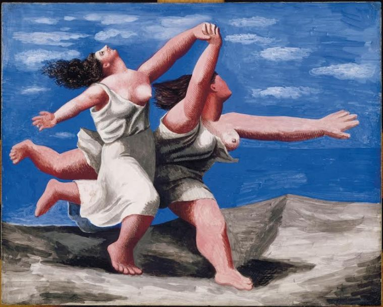 6. Pablo Picasso, Due donne che corrono sulla spiaggia, 1922, Museo Picasso, Parigi
