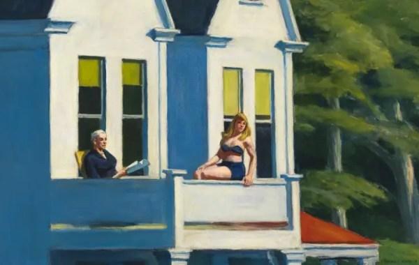 Edward Hopper, Second Story Sunlight (dettaglio)