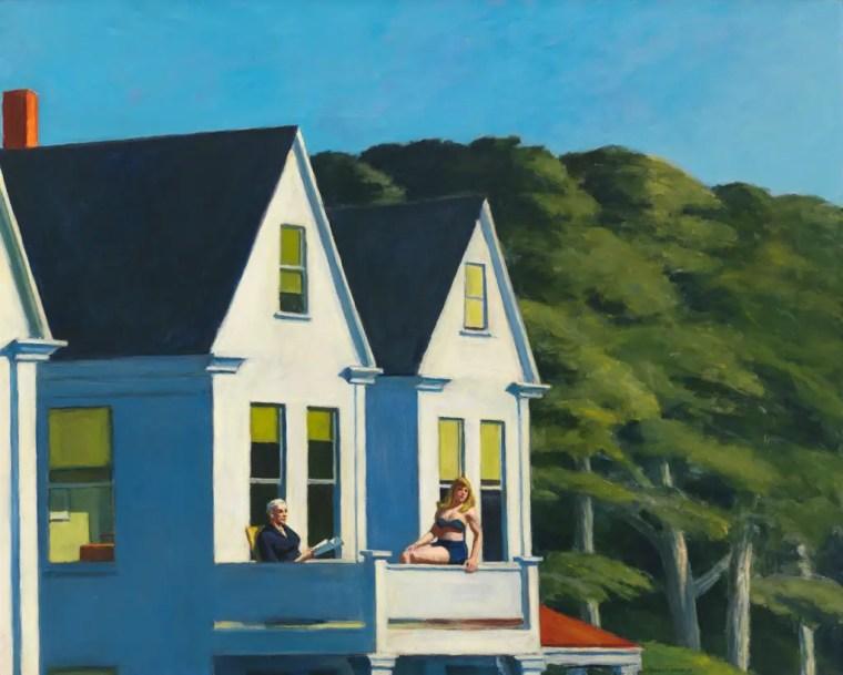 Edward Hopper, Second Story Sunlight, 1960, Whitney Museum of American Art, New York City