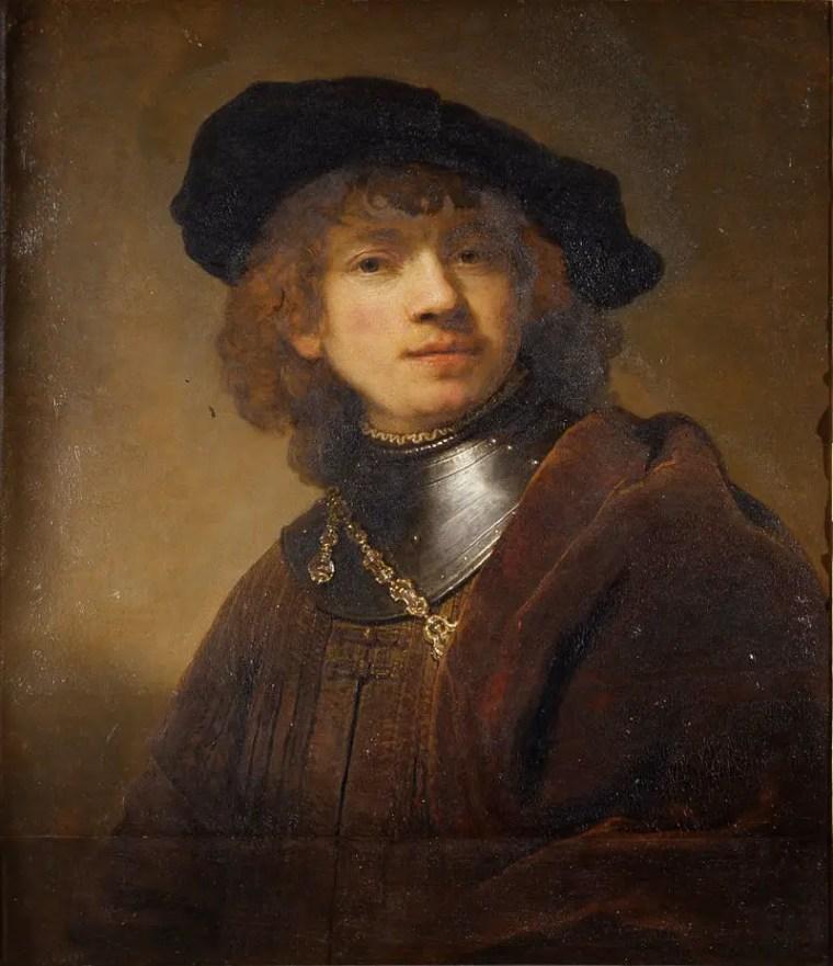 Rembrandt, Ritratto di giovane, 1633-1634, Galleria degli Uffizi, Firenze