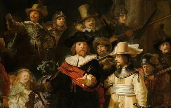 Rembrandt, La Ronda di notte, 1640-1642, Rijksmuseum, Amsterdam