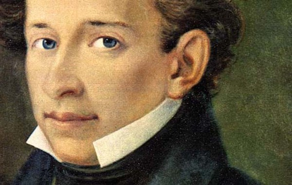 Giacomo Leopardi, ritratto (dettaglio)