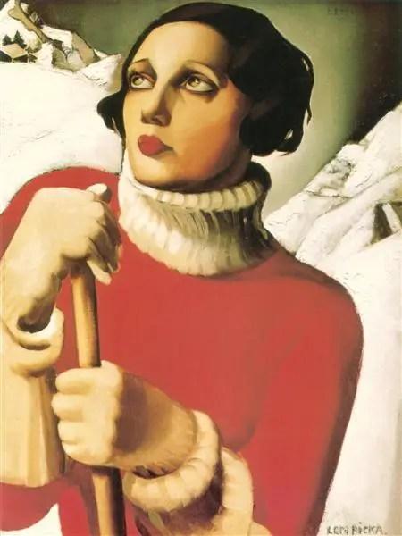 Tamara de Lempicka, Saint Moritz, 1929