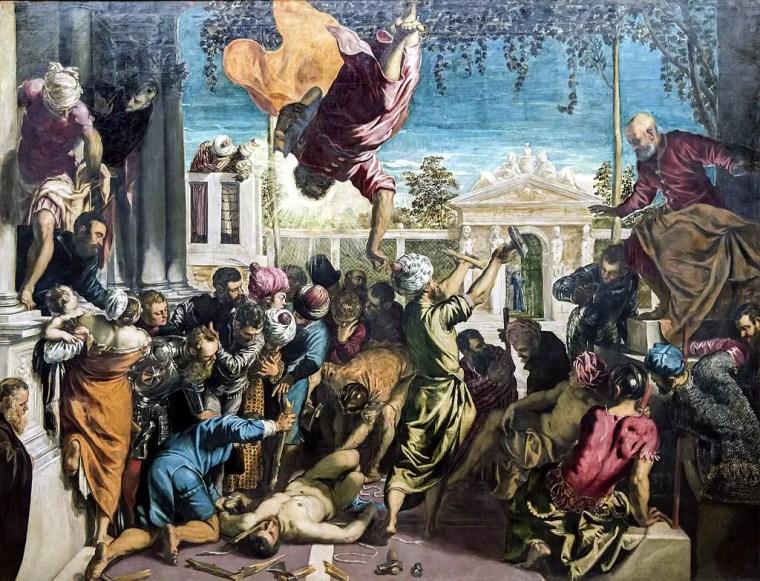 Jacopo Tintoretto, San Marco libera uno schiavo