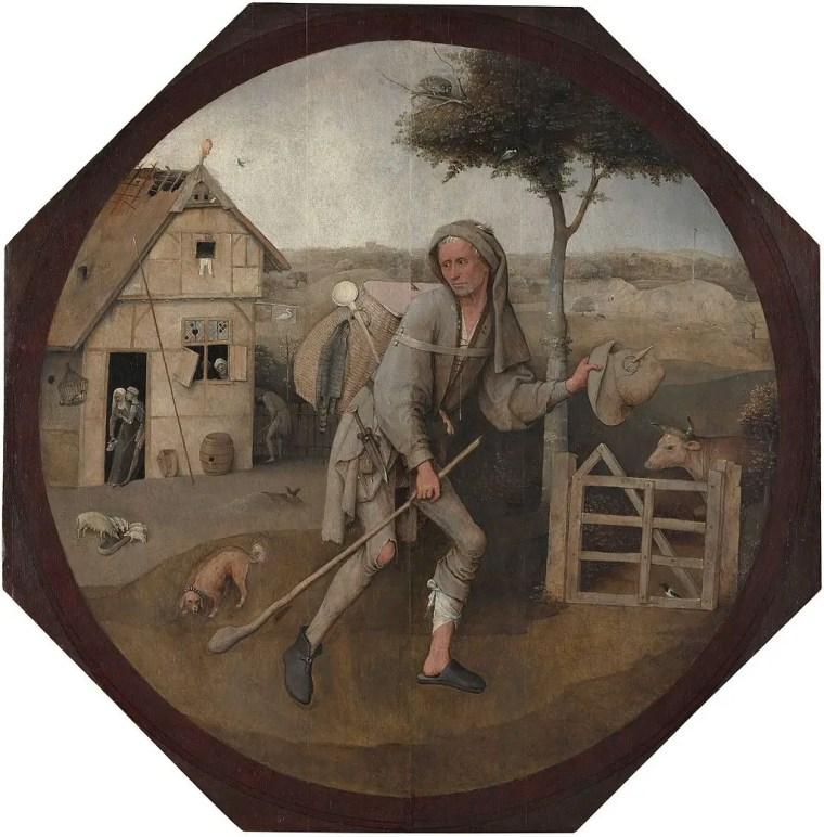 Hieronymus Bosch, Venditore ambulante, 1494 circa, Museum Boijmans Van Beuningen, Rotterdam