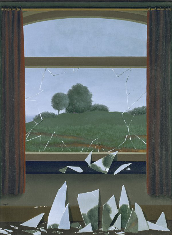 René Magritte, La chiave dei campi, 1936, Madrid, Museo Nacional Thyssen-Bornemisza
