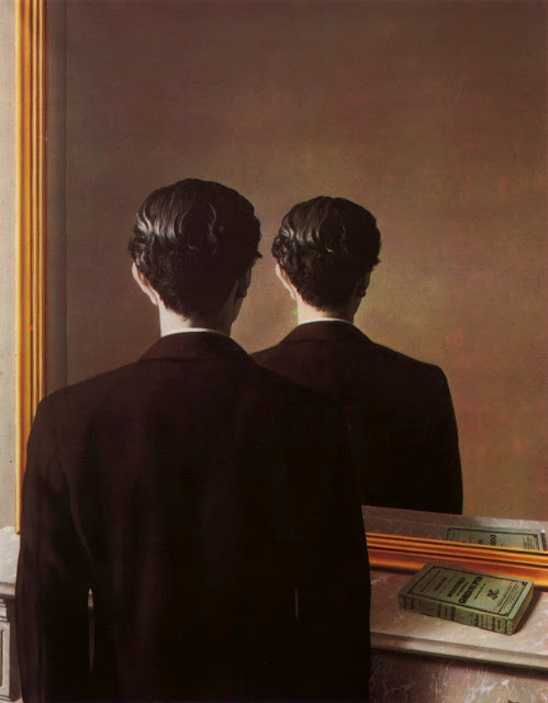 René Magritte, La réproduction interdite (portrait d'Edward James), 1937