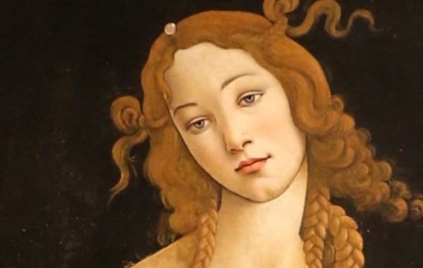 Sandro Botticelli, Venere Sabauda, dettaglio