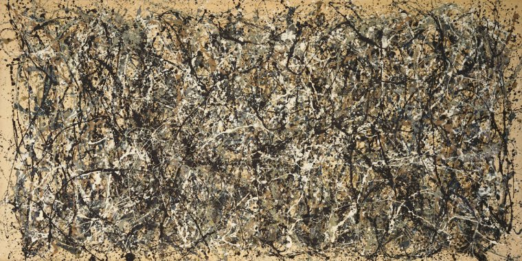 Jackson Pollock , Autumn Rhythm (number 30), MET, New York