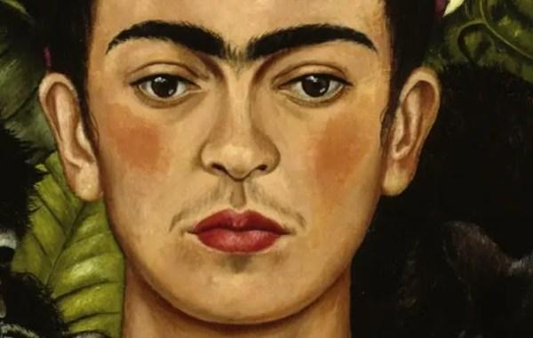 Frida, autoritratto con collana di spine (dettaglio)