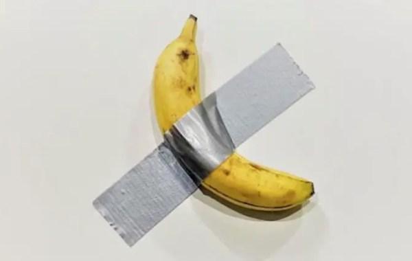 Maurizio Cattelan, La banana