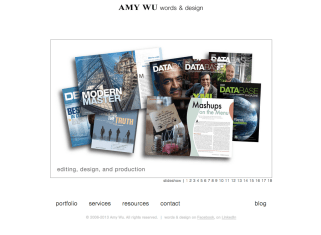 Portfolio: DB2 Magazine