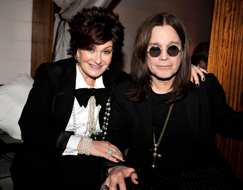 LOS ANGELES, CA - JANUARY 13: Sharon Osbourne and Ozzy Osbourne attend the 2009 Fox Winter All-Star Party at My House on January 13, 2009 in Los Angeles, California. (Photo by Kevin Winter/Getty Images) *** Local Caption *** Ozzy Osbourne;Sharon Osbourne