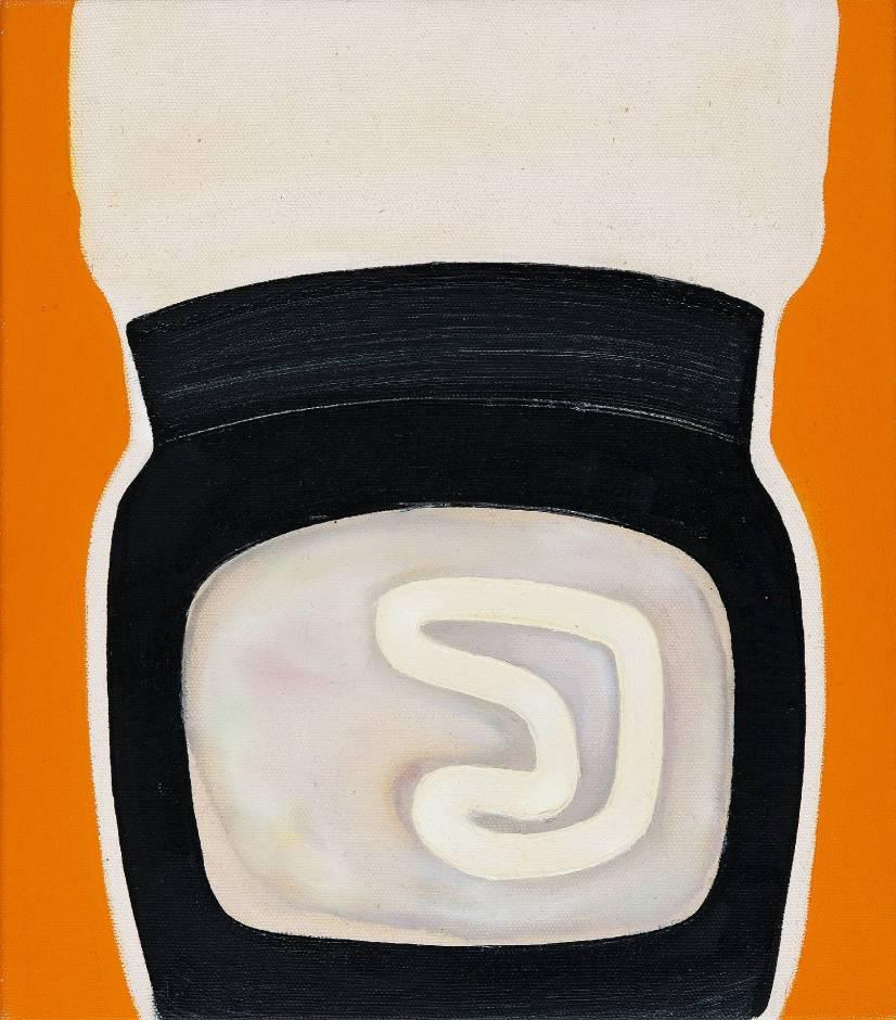 Knieschoner retro (2013; 40x35)