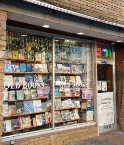 Old Books on Front Street store front