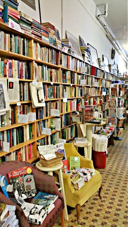 book store long shot