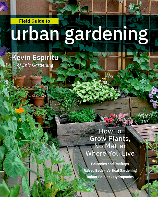 We're Reading Field Guide to Urban Gardening by Kevin Espiritu