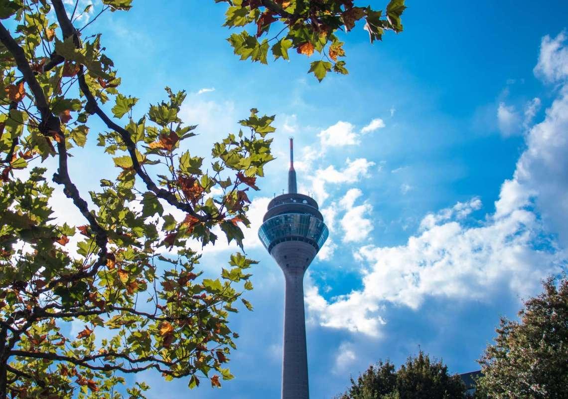 Düsseldorf in Autumn