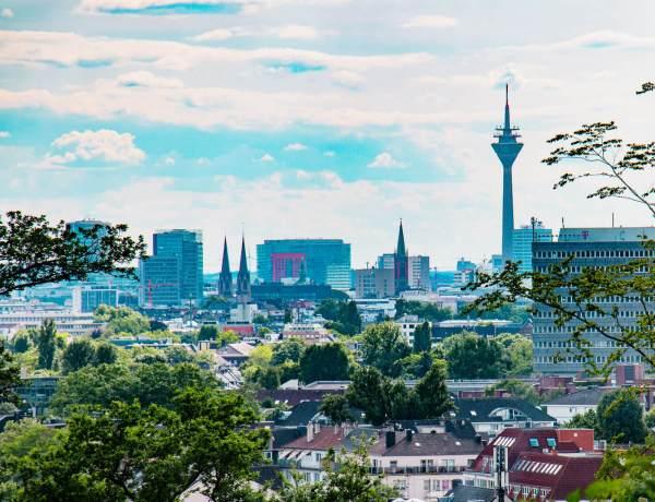 Schöne Aussicht Düsseldorf