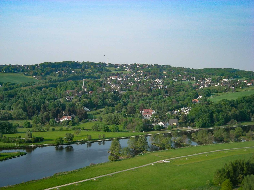 View from Hattingen Germany