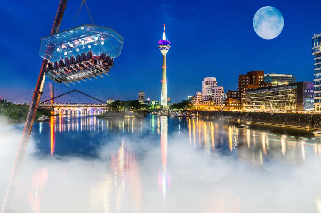 Dinner in the Sky Düsseldorf