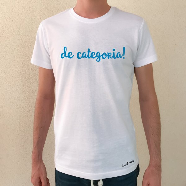 camiseta de categoria! blanca chico