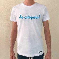 camiseta de categoria! blanca chico