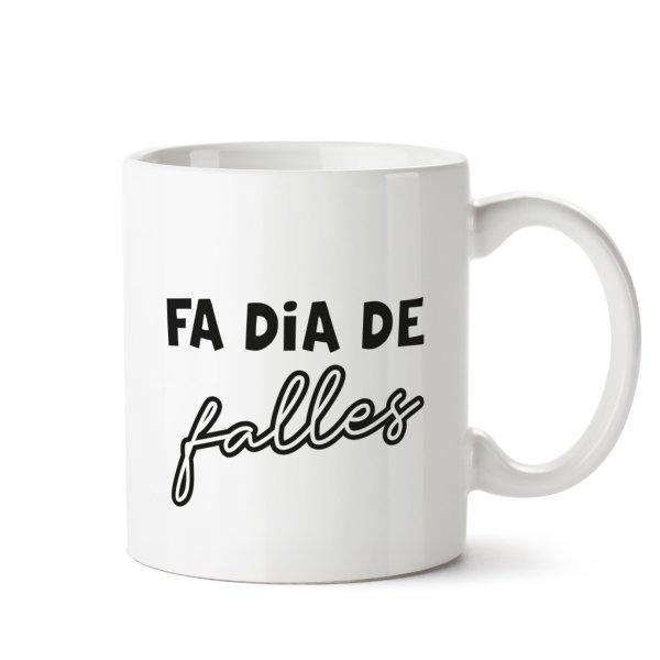 taza fa dia de falles