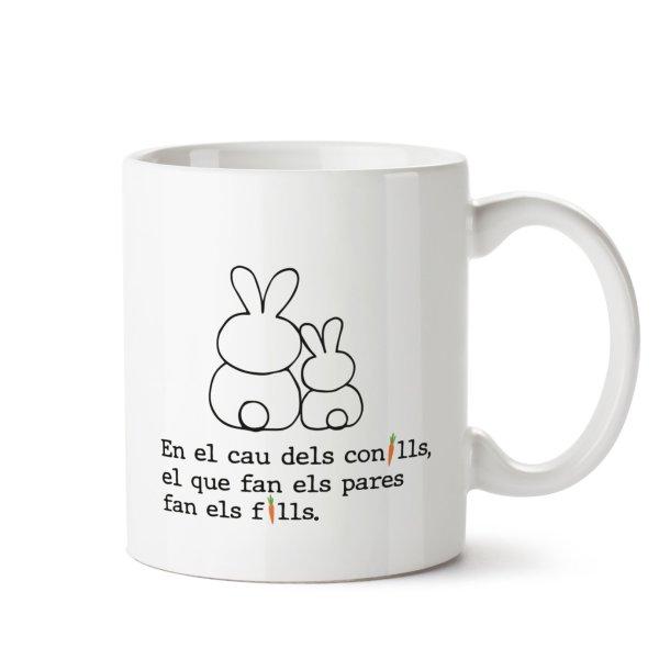 taza en el cau dels conills el que fan els pares fan els fills