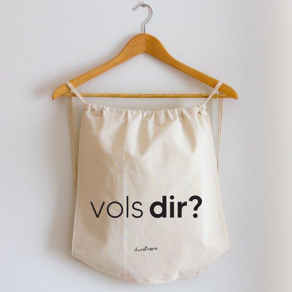 mochila de cuerdas vols dir?