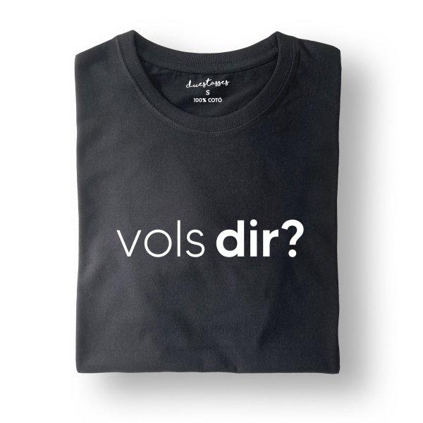 camiseta negra vols dir?