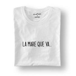 camiseta blanca la mare que va