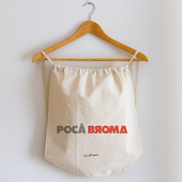 mochila de cuerdas poca broma