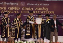 95th Annual Convocation Held by Delhi University
