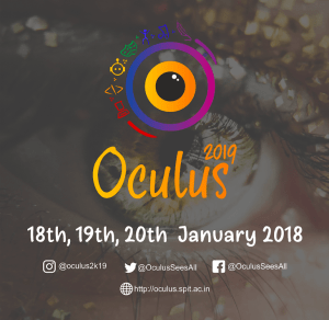 Oculus 2019 - Sardar Patel Institute of Technology @ Bhavan's Campus,Mumbai