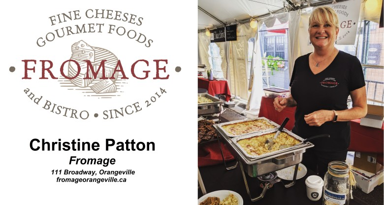 Christine Patton of Fromage on Dufferin's Spotlight on Business