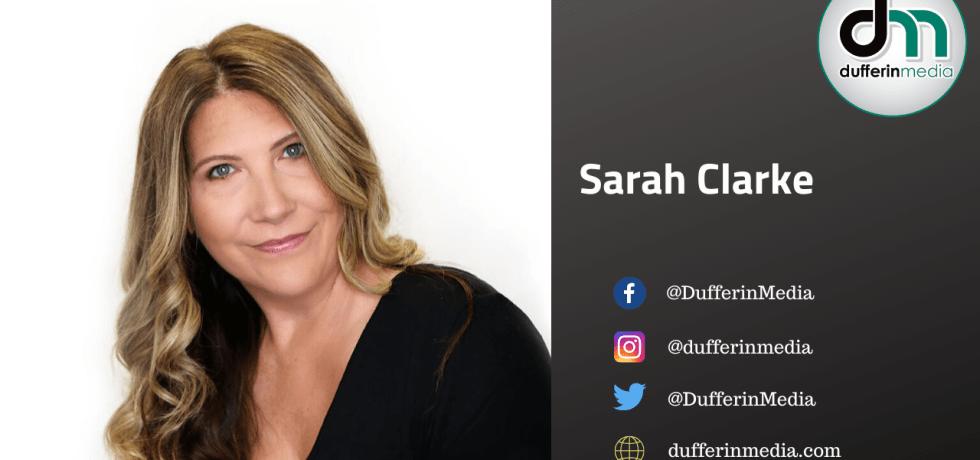 Sarah Clarke of Dufferin Media