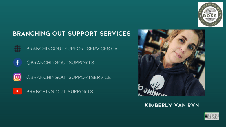 Kim Van Ryn of Branching Out Support Services returns on Episode 25 of Dufferin's Spotlight on Business!