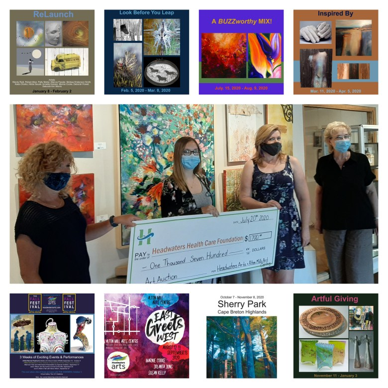 A Retrospective for Headwaters Arts in 2020
