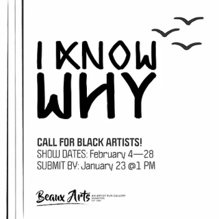 Halton-Peel-Dufferin Call for Entry - I Know Why: Black History Month Exhibition - Beaux Arts Gallery
